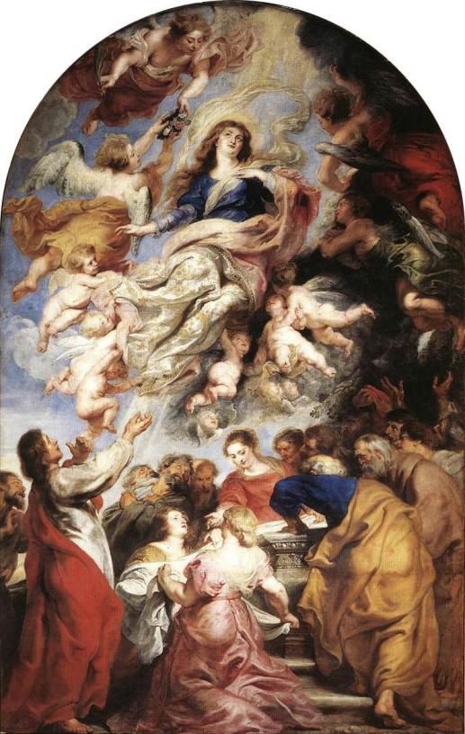 27 - Baroque_Rubens_Assumption-of-Virgin-3